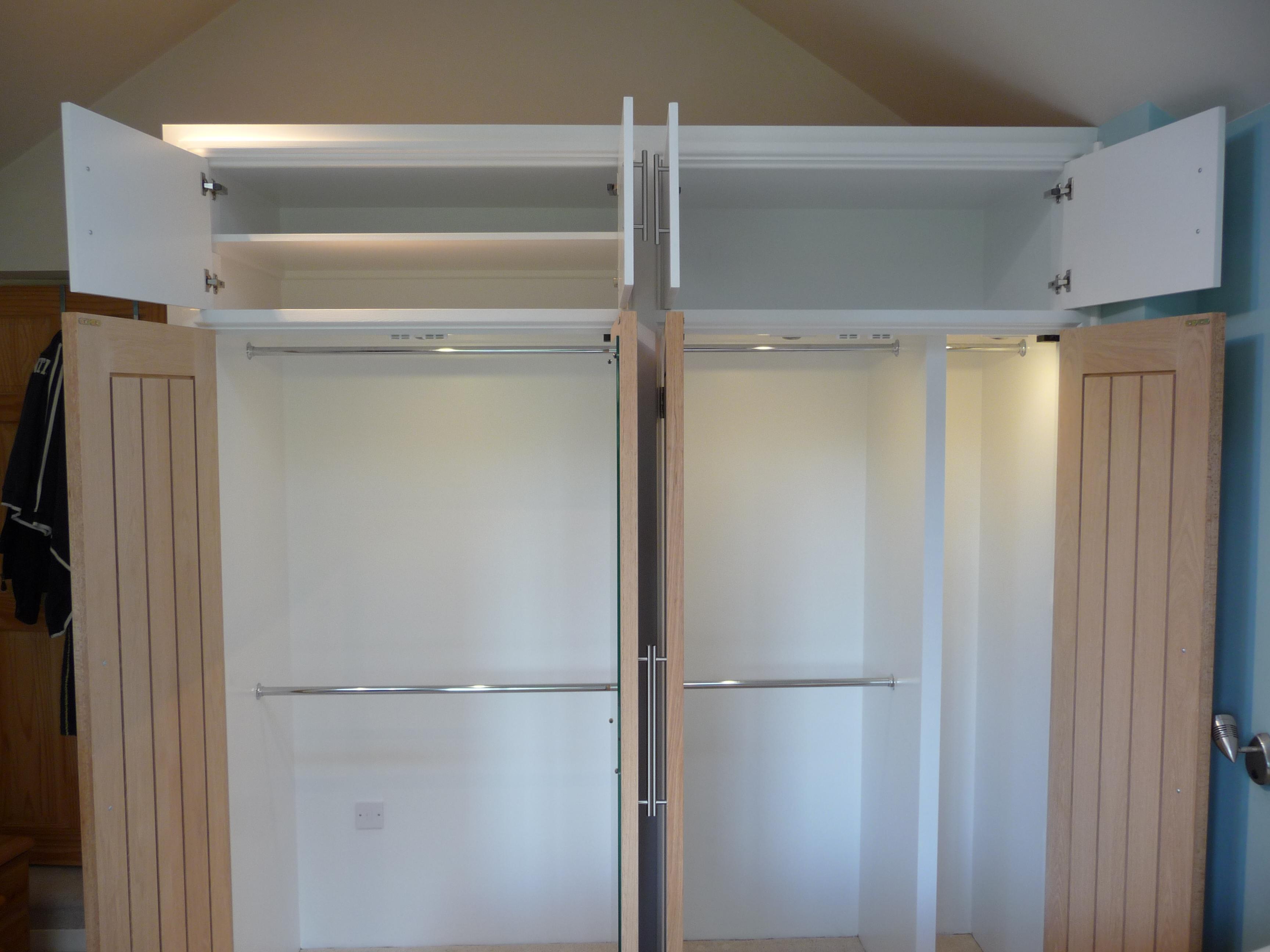 above wardrobe storage home design On above wardrobe storage ideas